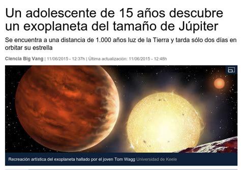 Medidas para medir sin medida: Un exoplaneta del tamaño de ...