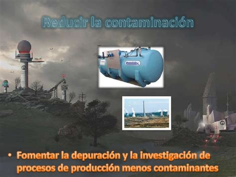 Medidas para reducir la contaminación atmosférica