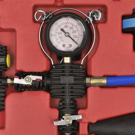 Medidor de presión del radiador con purga y recarga 27 ...
