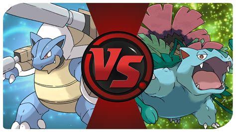 Mega Blastoise vs. Mega Venusaur (TCG Time - Pokemon Pack ...