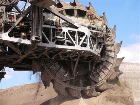 Mega Excavadoras Alemanas las Más Grande del Mundo ...