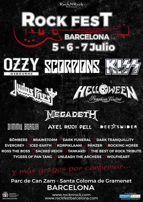 Megadeth se suman al Rock Fest Barcelona 2018   Fotoconciertos