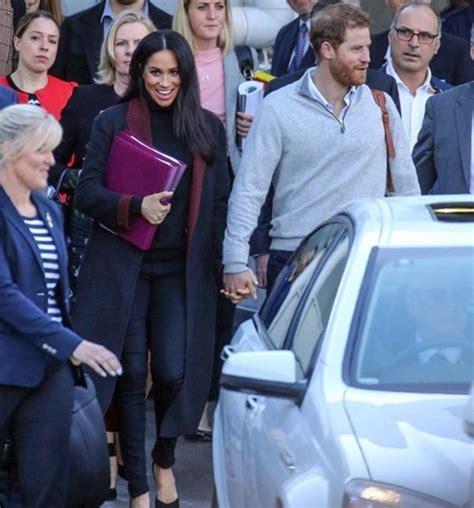 Megan Markle presume su embarazo en Australia