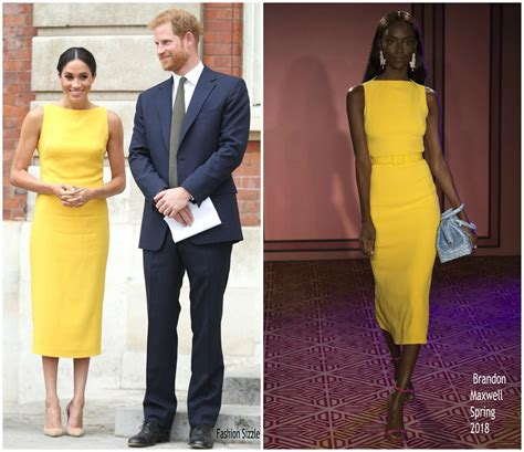 Meghan, Duchess of Sussex In Brandon Maxwell @ 'Your ...