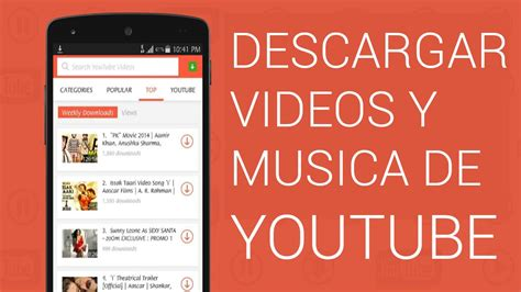 Mejor aplicacion para descargar musica y videos de youtube ...