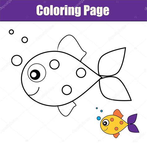 Mejor De Dibujos De Peces De Colores Para Imprimir