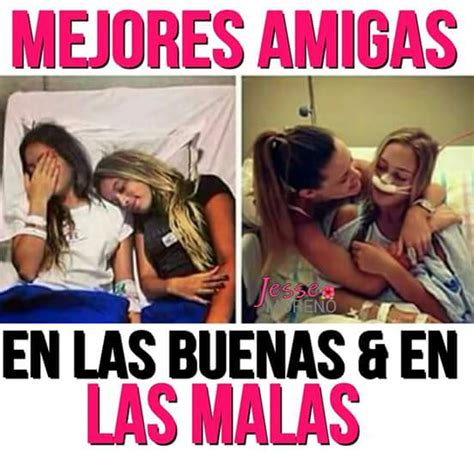 Mejores Amigas…   FRASES.PW