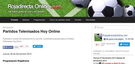 Mejores páginas para ver fútbol online GRATIS sin registrarse