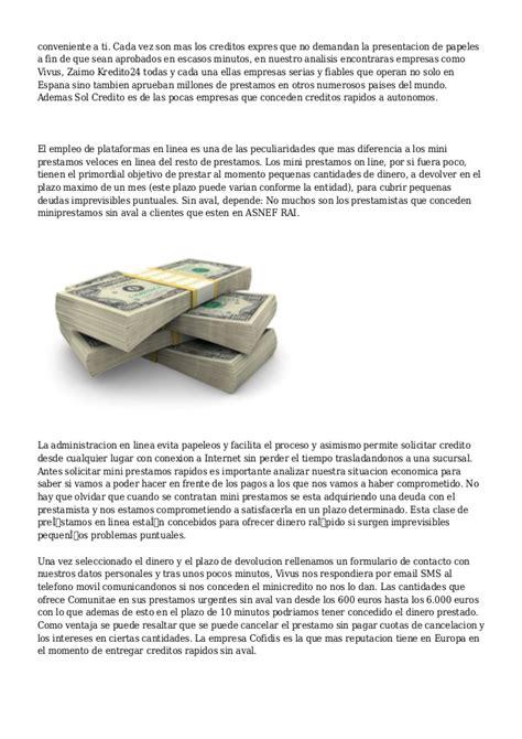 Mejores Prestamos Personales Sin Domiciliar Nomina Ni ...
