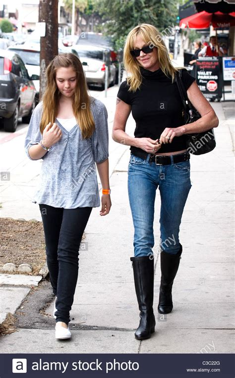 Melanie Griffith and her daughter Stella Banderas go to a ...