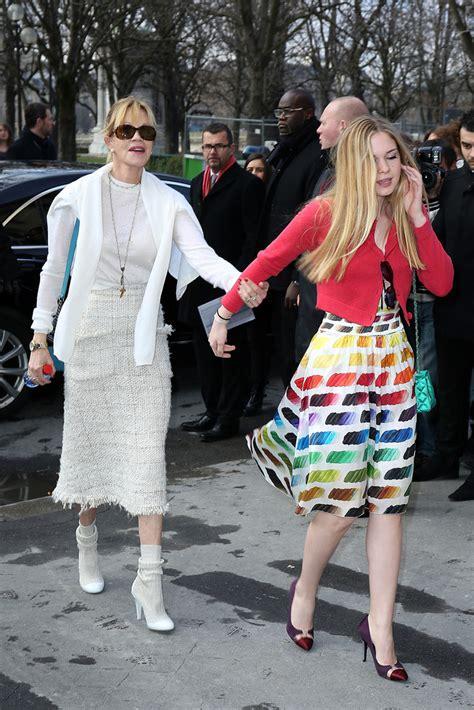 Melanie Griffith and Stella Bandera Photos Photos   Chanel ...