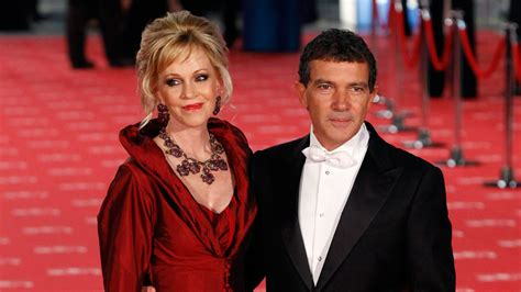 Melanie Griffith praises  ruggedly handsome  ex husband ...