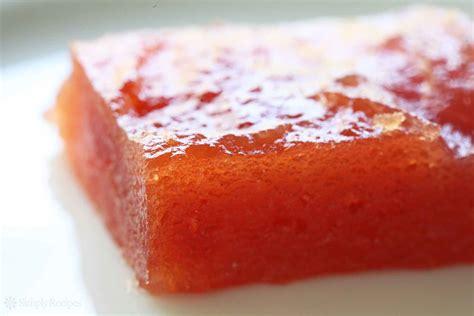 Membrillo (Quince Paste) Recipe | SimplyRecipes.com