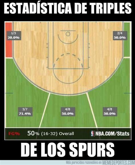 [ MEMEDEPORTES ] Estadística de Triples de los Spurs
