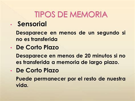 MEMORIA HUMANA. - ppt video online descargar