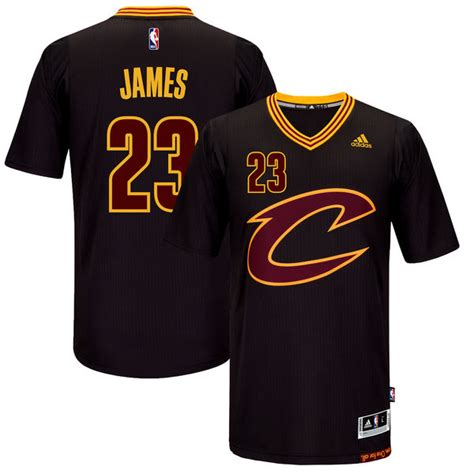 Men s Cleveland Cavaliers LeBron James Black adidas Pride ...