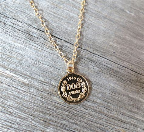 Men's Necklace - Men's Coin Necklace - Men's Gold Necklace ...