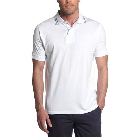 Men's Polo Shirt – White   Land Rover Merchandise