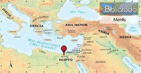 Menfis - Mapa y Ubicación Geográfica