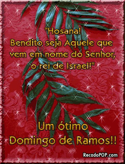 Mensagens de Domingo de Ramos para Facebook