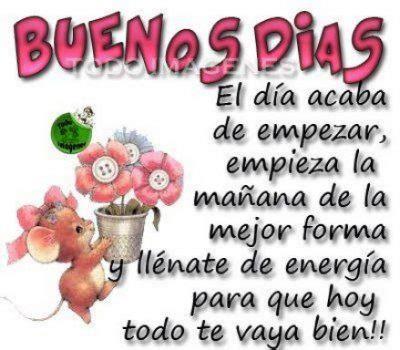 Mensajes De Buenos Dias Para Alguien Muy Especial En Tu ...