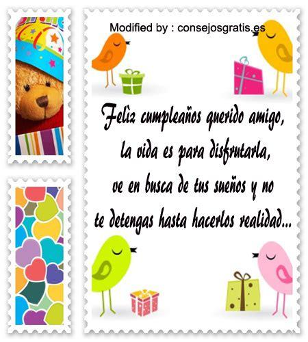 » Mensajes De Feliz Cumpleaños Para Mi Amigo | Frases de ...