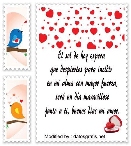 Mensajes Románticos De Buenos Días | Frases De Buenos Días ...
