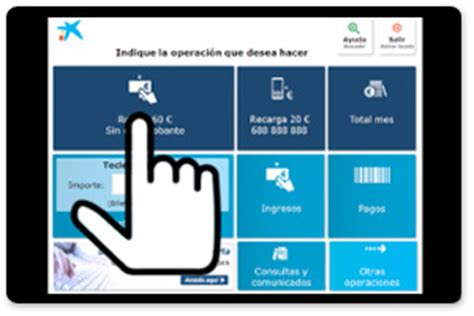 Menú Operaciones habituales   Cajeros   CaixaBank