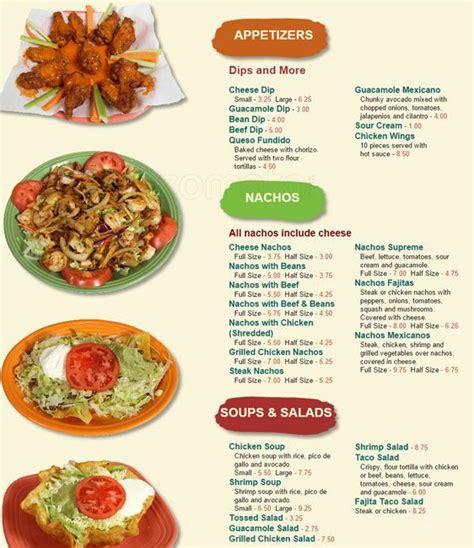 Menus de restaurantes mexicanos   Imagui