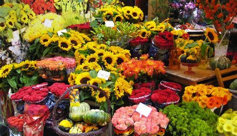 Mercado de las flores de Ámsterdam, Bloemenmarkt ...