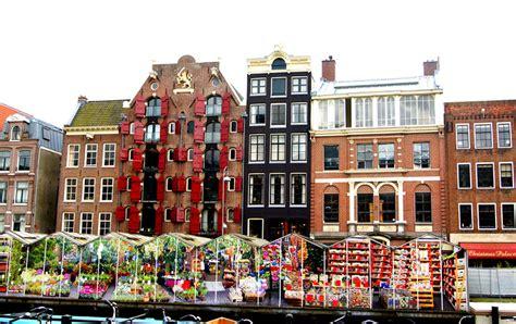 Mercado de las flores de Ámsterdam   La Guía de Amsterdam