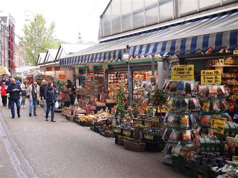 Mercado de las flores – Amsterdam   Las Mil Millas