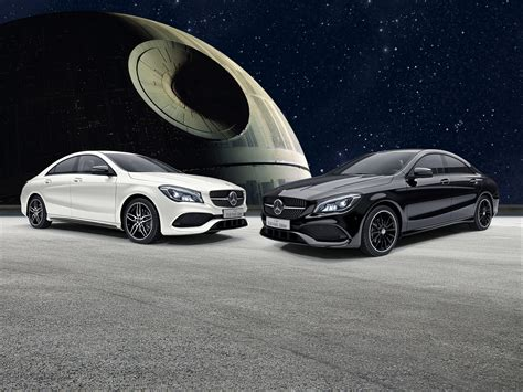 Mercedes Benz CLA Gets Star Wars Themed Special Edition In ...