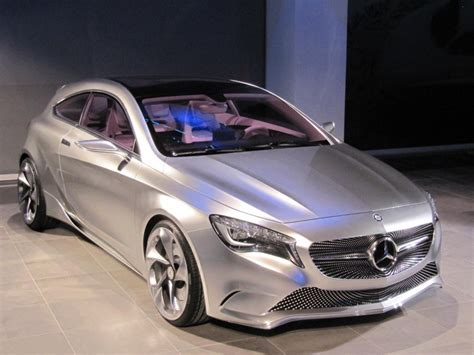 Mercedes Benz Concept A Class: 2011 New York Auto Show ...