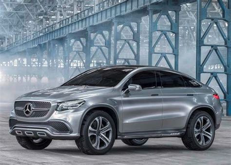 Mercedes Benz Concept Coupe SUV hints at new model ...