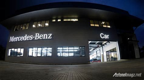 Mercedes-Benz Indonesia Pamerkan Body & Paint Centre ...