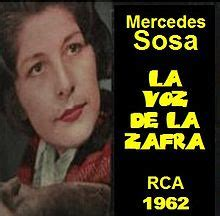 .: MERCEDES SOSA
