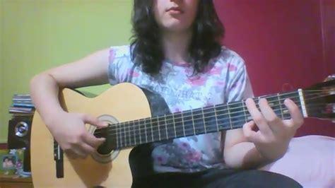 Mercedes Sosa Todo cambia  mini cover guitarra    YouTube