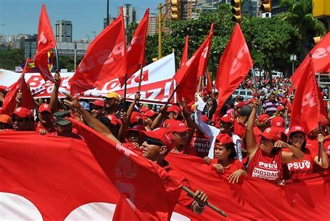 Mérida: Militantes del PSUV marcharon por la paz