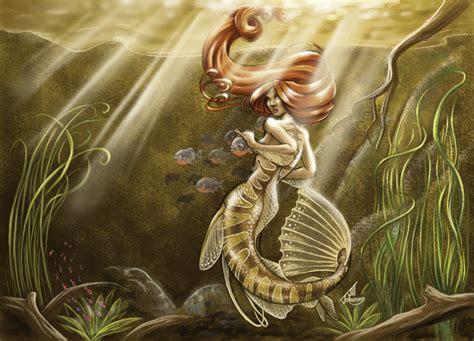 Mermaid of the Amazon by JillJohansen on DeviantArt