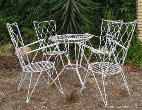 mesa antigua hierro forja vintage jardin terraz   Comprar ...