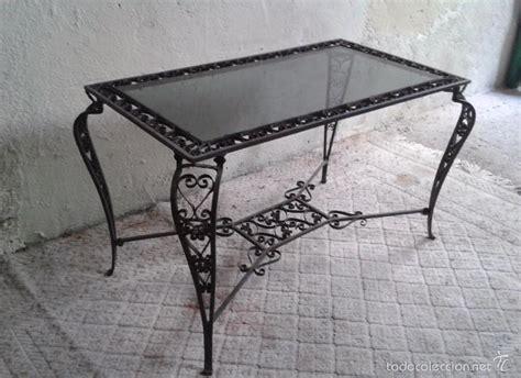 mesa antigua hierro forjado mesa de centro saló   Comprar ...