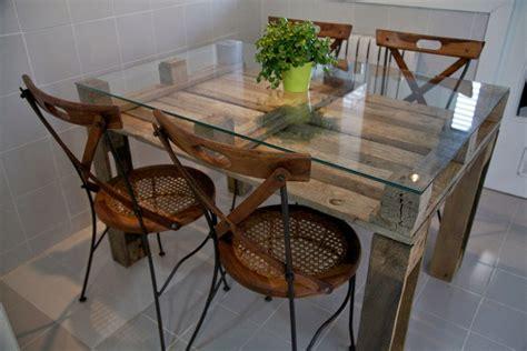 Mesa Comedor Palet Vintage Madera Reciclada, Pallets ...