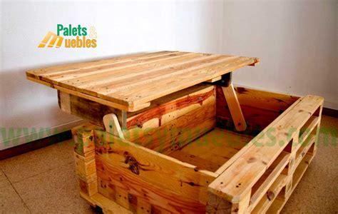 mesa-con-palets - PALETS Y MUEBLES