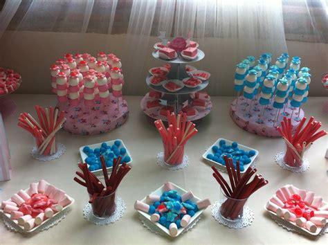 Mesa de chuches para una boda en tonos pasteles   Sweet ...
