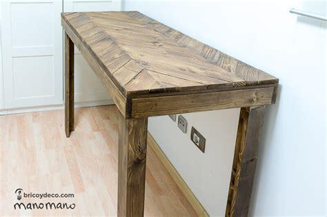 Mesa de cocina con palets: tutorial paso a paso para ...