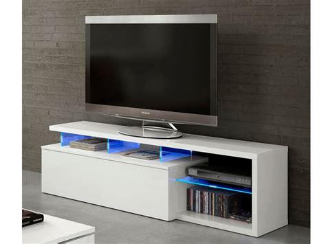 Mesa de Tv para salón blanca, mueble mesa de comedor con ...