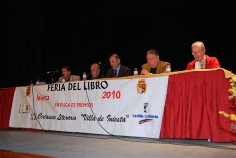 Mesa del Concurso literario Villa, INIESTA  Cuenca