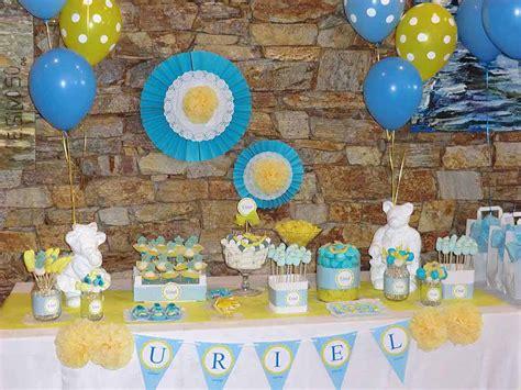 Mesa dulce bautizo Uriel   Chuches Originales