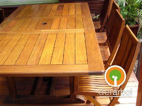 Mesa Extensible Leslie de Madera para Jardín y Exterior ...